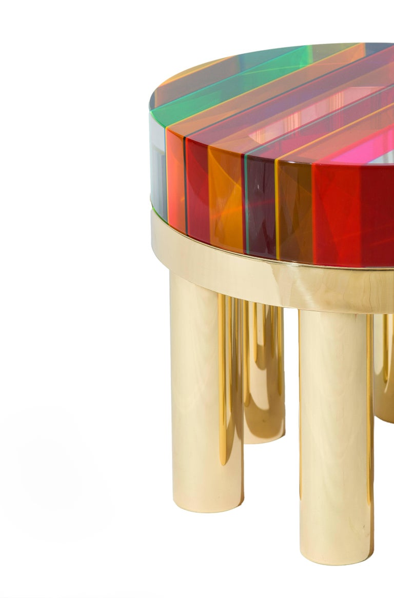 "Modern ""DNA"" Coffee Table by Studio Superego, Italy For Sale"