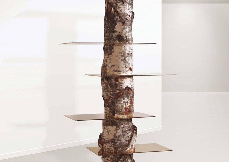 """Modern Andrea Branzi """"Tronchi"""" Bookcase, Superego Editions, Italy For Sale"""