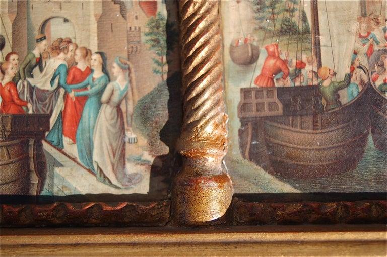 Rare Miniature Replica of Sint Ursula Shrine, Mid-20th Century For Sale 2