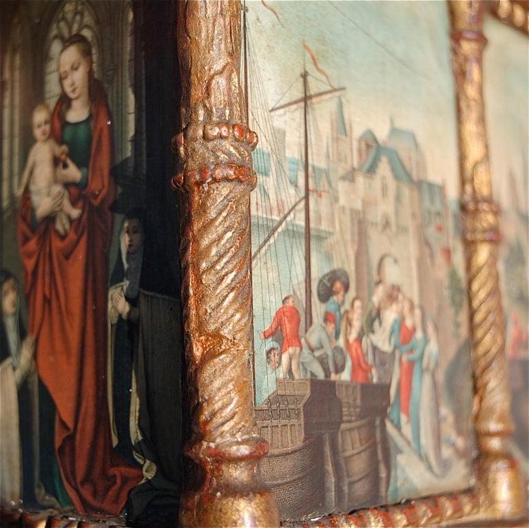 Rare Miniature Replica of Sint Ursula Shrine, Mid-20th Century For Sale 3