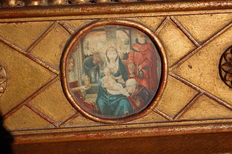 Rare Miniature Replica of Sint Ursula Shrine, Mid-20th Century For Sale 5