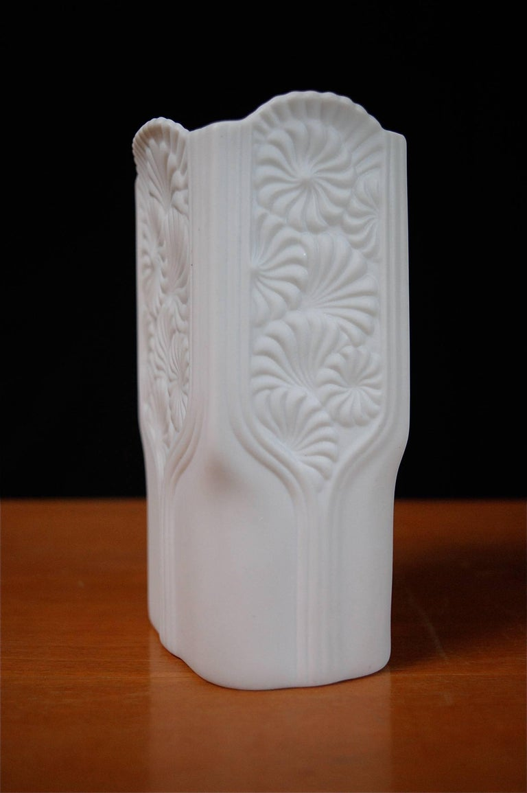 Collection of Three Alboth Kaiser Porcelain Vases, 1970s, Germany In Excellent Condition For Sale In Noorderwijk, BE