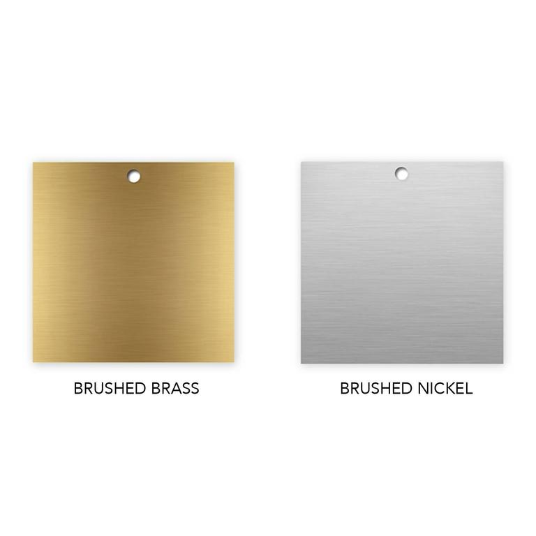Drape Brass Desk in White 9