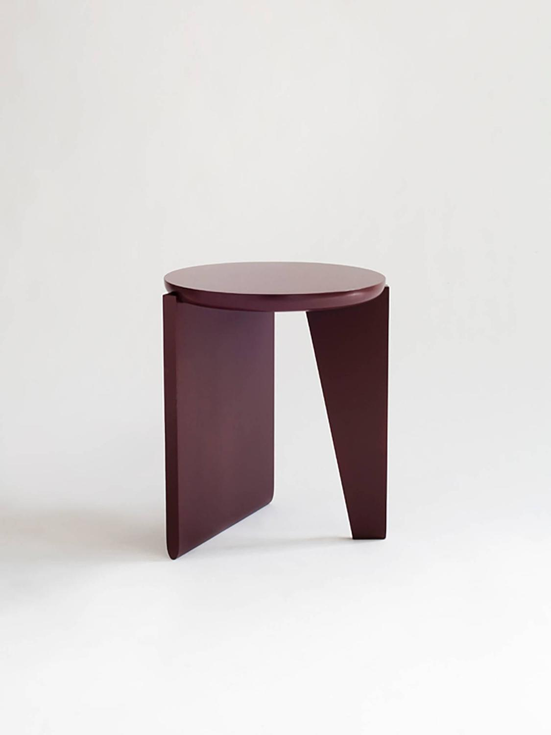 Wu side table or stool solid wood for sale at stdibs