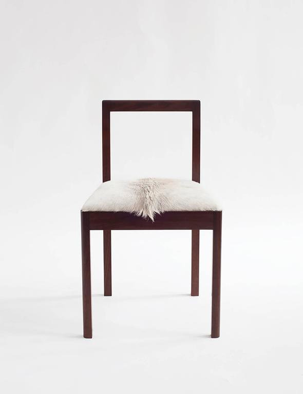 American Densen Side Chair Solid Wood For Sale