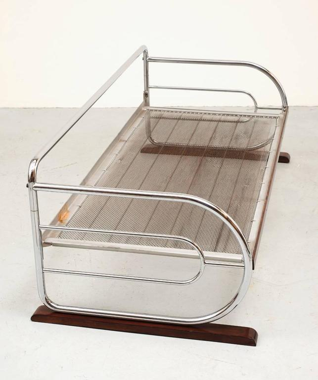 Chrome Bauhaus Daybed By Hynek Gottwald For Sale At 1stdibs