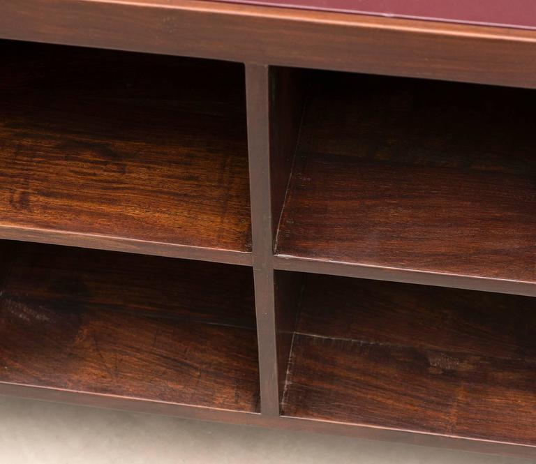 Pierre Jeanneret Chandigarh Desk in Indian Rosewood, 1950s For Sale 3