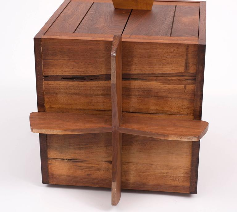 Late 20th Century Kornblut Case by George Nakashima, 1970s For Sale