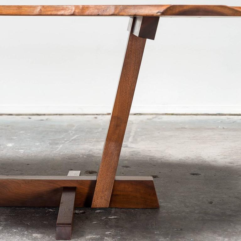 Organic Modern Exceptional Large Conoid Dining Table by George Nakashima, 1984