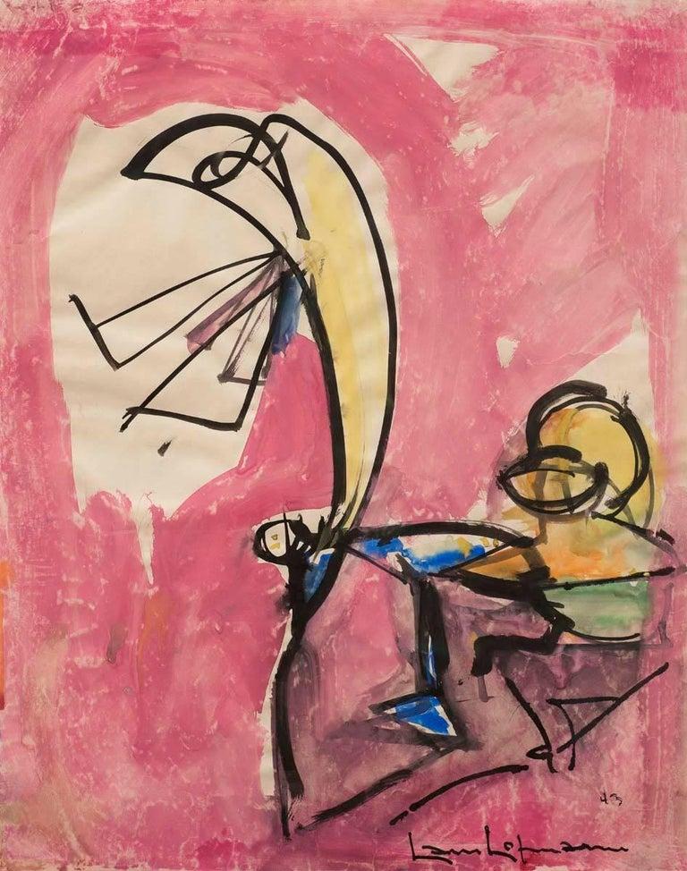 """""""Still Life"""" by Hans Hofmann, 1943 2"""