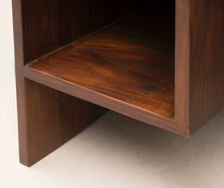 Pierre Jeanneret Chandigarh Desk in Indian Rosewood, 1950s For Sale 5