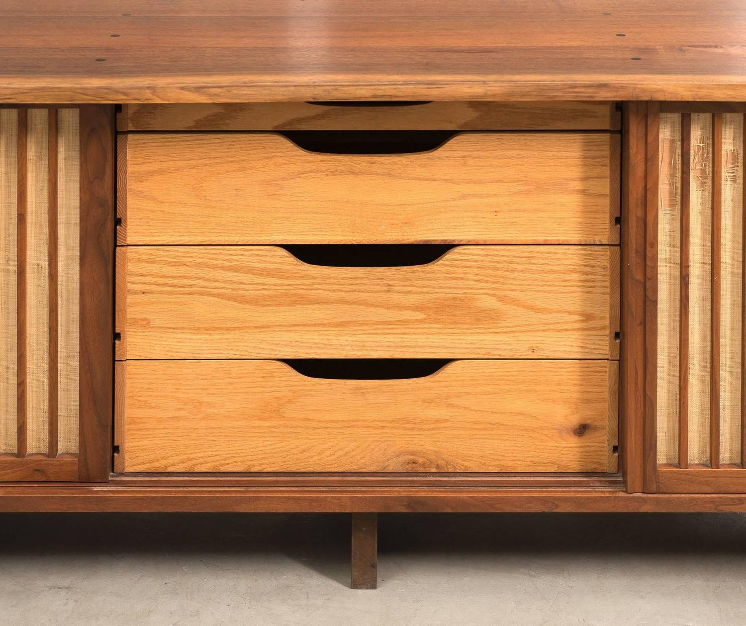 George Nakashima Triple Sliding Door Cabinet 1968 For Sale At 1stdibs