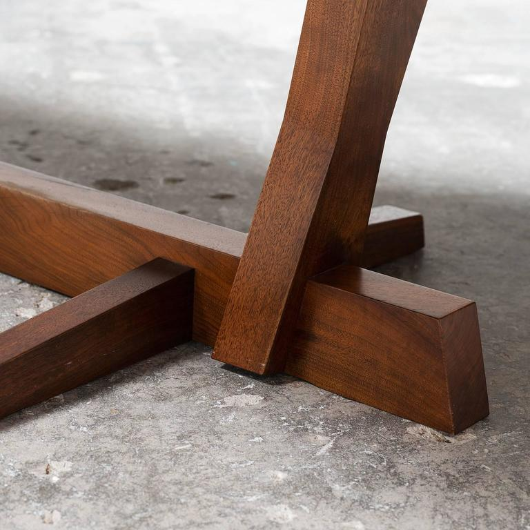 Exceptional Large Conoid Dining Table by George Nakashima, 1984 3