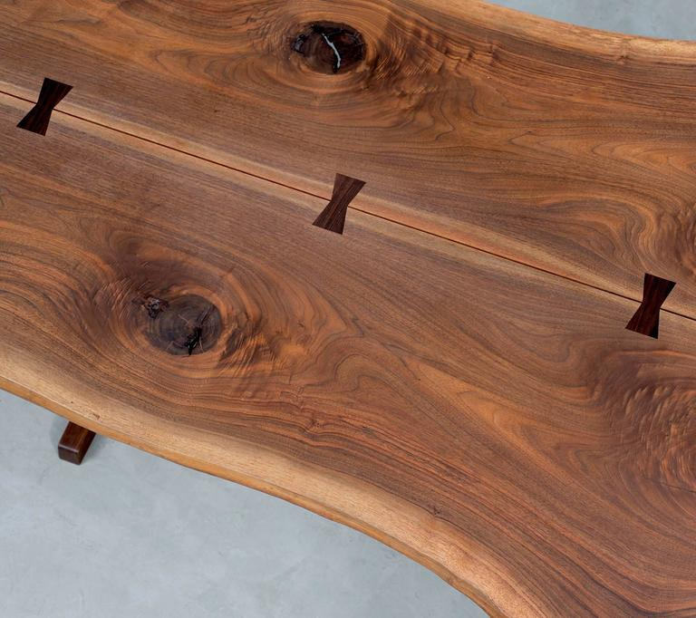 Rosewood Exceptional Large Conoid Dining Table by George Nakashima, 1984