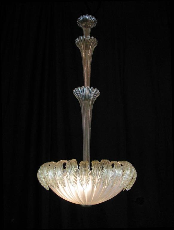 tall venetian murano pendant blown glass three light. Black Bedroom Furniture Sets. Home Design Ideas