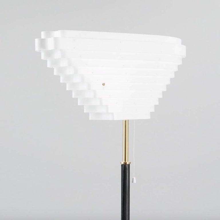 Finnish Alvar Aalto Model A805 Angel Wing Floor Lamp For Sale