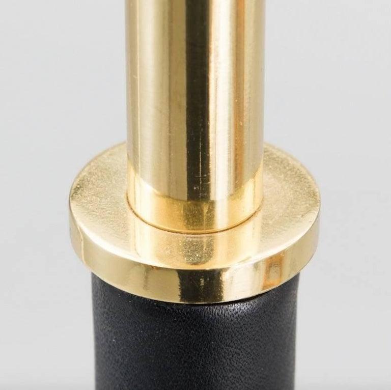 Brass Alvar Aalto Model A805 Angel Wing Floor Lamp For Sale