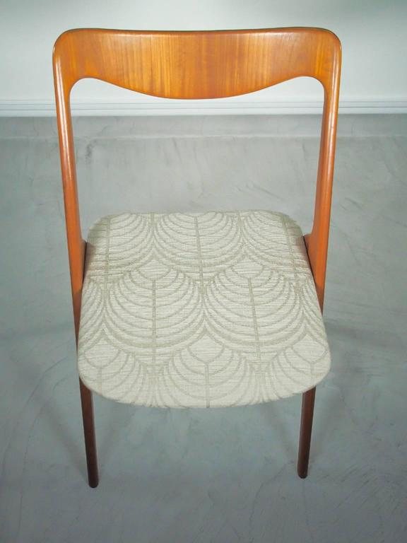 Set of Four Mid-20th Century Albin Johansson & Sons Teak Chairs In Good Condition For Sale In Madrid, ES