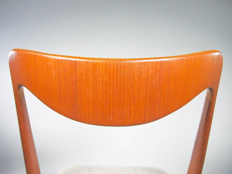 Set of Four Mid-20th Century Albin Johansson & Sons Teak Chairs For Sale 2