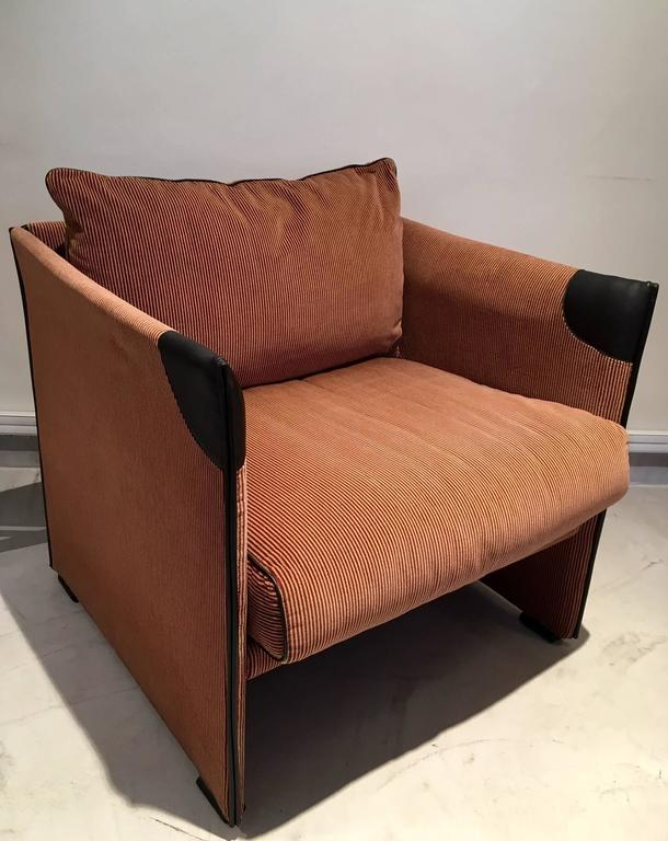 Italian Mario Bellini Break Lounge Chair for Cassina, Italy For Sale
