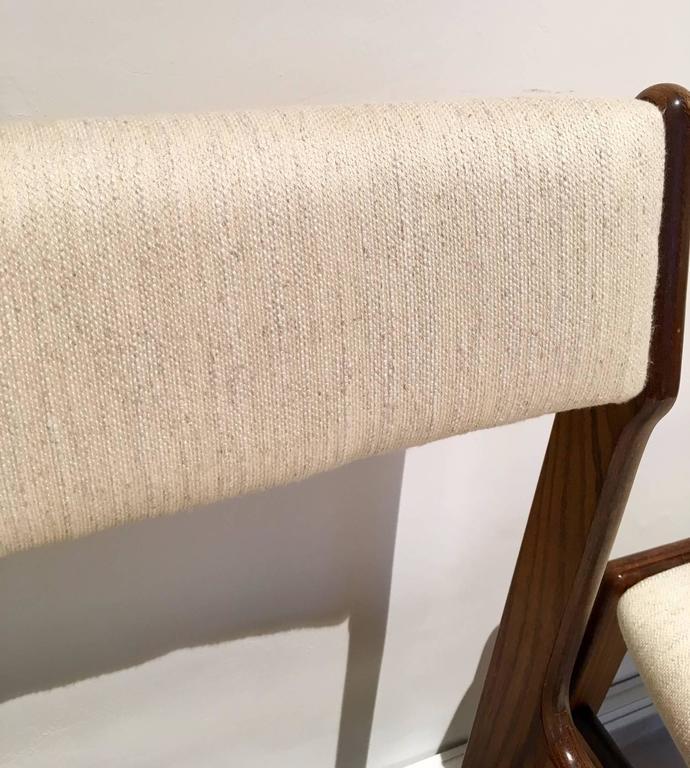 Set of Six Mid-Century Danish Rosewood Veneered Dining Chairs 9