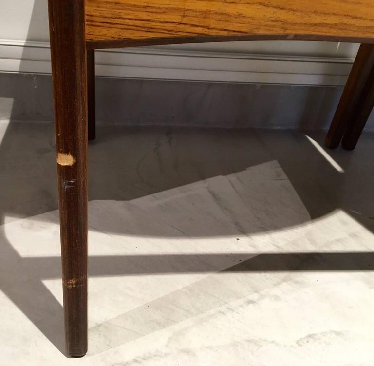 Set of Six Mid-Century Danish Rosewood Veneered Dining Chairs 8