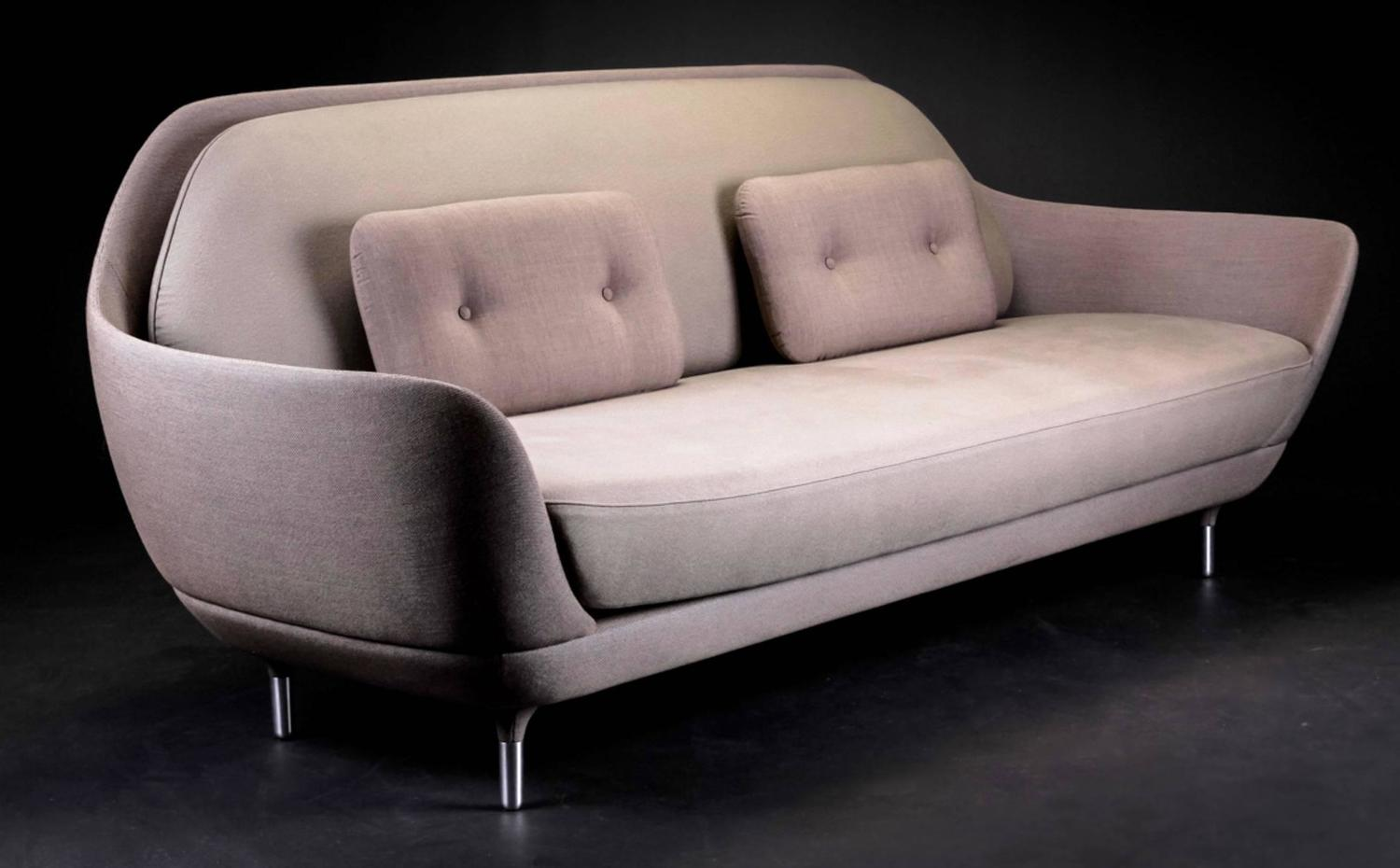 jaime hayon favn three seat sofa manufactured by fritz hansen for sale at 1stdibs. Black Bedroom Furniture Sets. Home Design Ideas