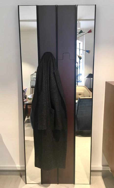 Modular Gronda Mirror and Coat Rack by Luciano Bertoncini for Elco In Good Condition For Sale In Madrid, ES