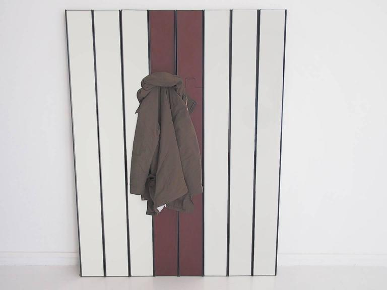 Mid-Century Modern Modular Gronda Mirror and Coat Rack by Luciano Bertoncini for Elco For Sale