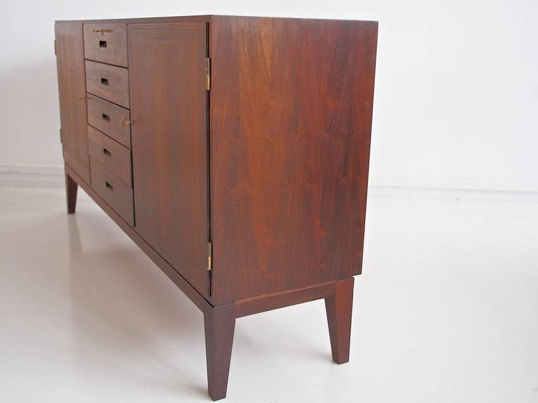 Hardwood Sideboard by Kai Winding, Circa 1960s For Sale 2