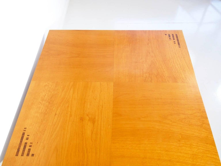 Jaume Tresserra Marquetry Walnut Coffee Table For Sale 4