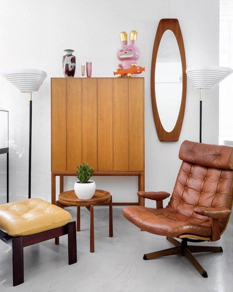 Alvar Aalto Model A805 Angel Wing Floor Lamp For Sale 2