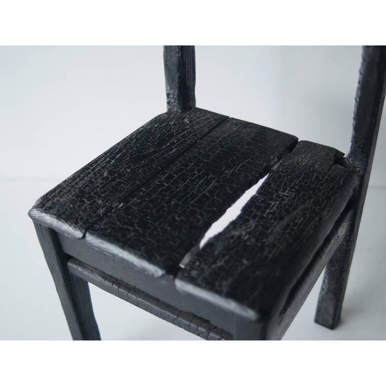 Contemporary Maarten Baas Smoke Child Chair For Sale