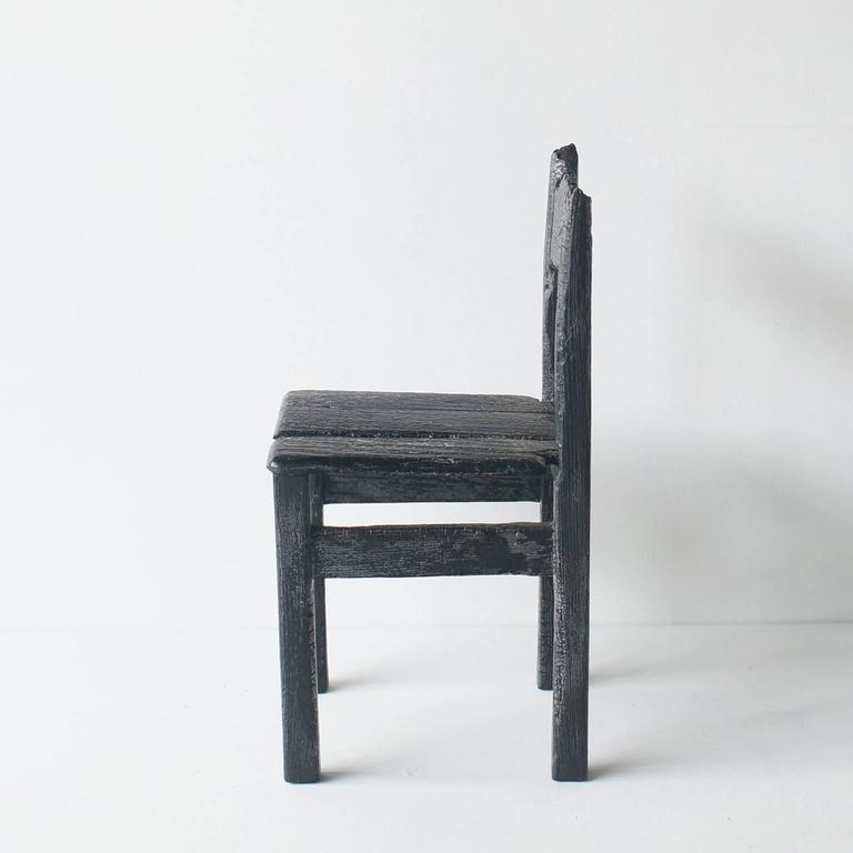Modern Maarten Baas Smoke Child Chair For Sale