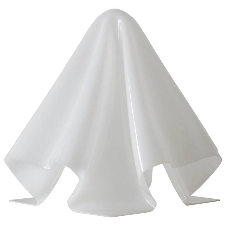 Shiro Kuramata White Acrylic Ghost Lamp Small