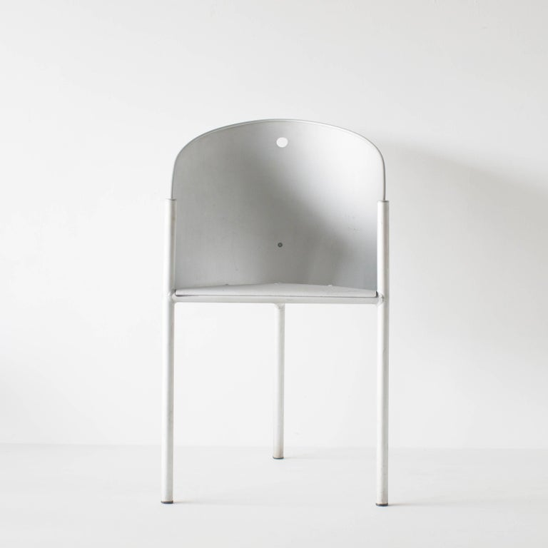 Painted Costes Aluminio Philippe Starck Driade Aleph For Sale
