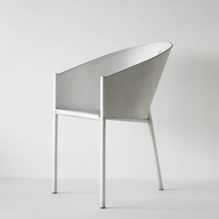 Costes Aluminio Philippe Starck Driade Aleph In Good Condition For Sale In Shibuya-ku, Tokyo