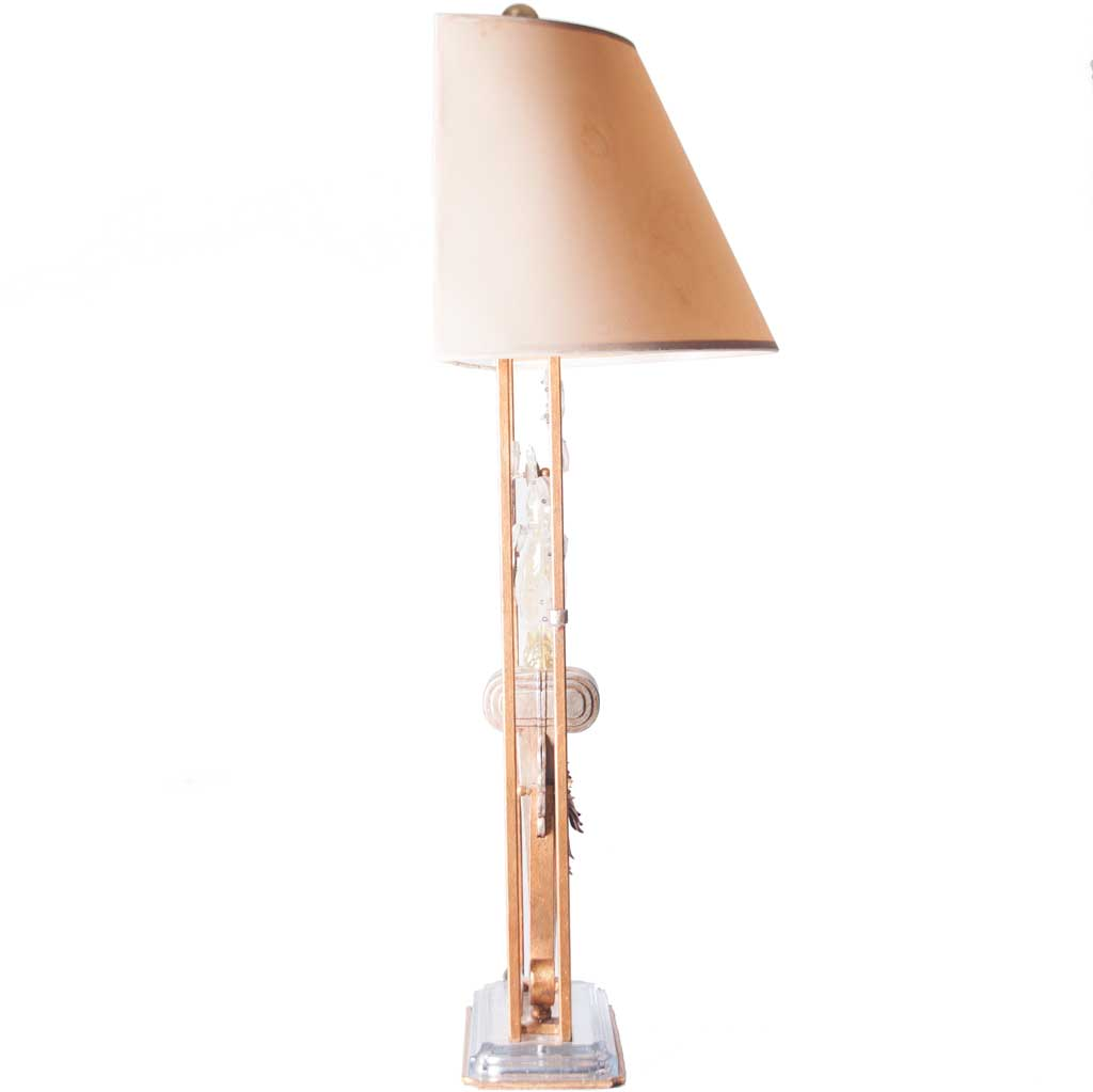 Gilt Metal And Crystal Parrot Table Lamp In The Style Of Maison Baguès For  Sale At 1stdibs