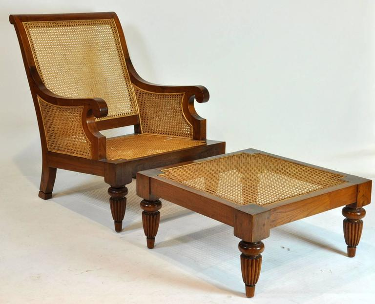 British colonial imports caned leather plantation style for British plantation style