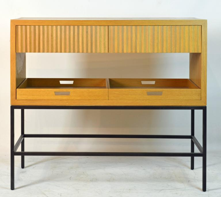 Lacquered Modern Design Bar or Credenza by Michael Vanderbyl for Bolier