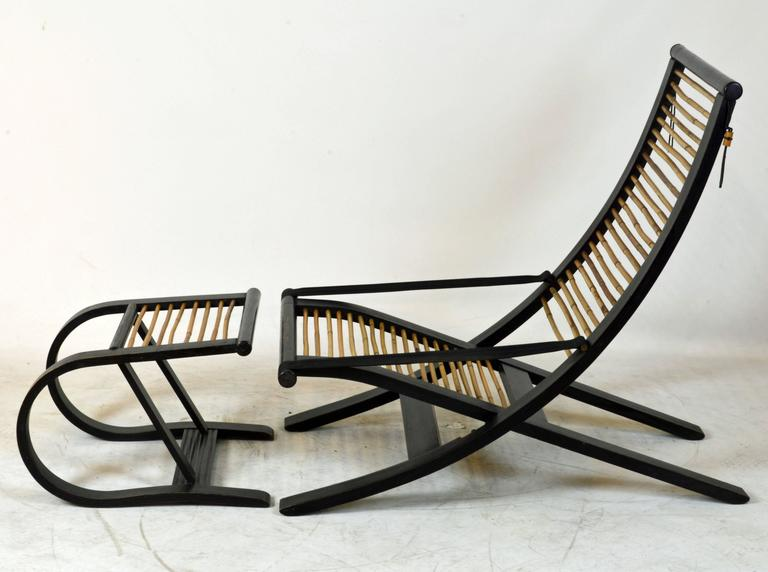 Amazing Iconic C1 Reclining Lounge Chair And Foot Stool Designed By David Colwell Pabps2019 Chair Design Images Pabps2019Com
