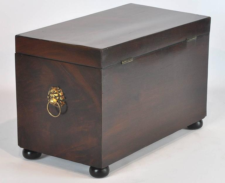 19th Ct. Regency Style English Mahogany Jewel Box 4
