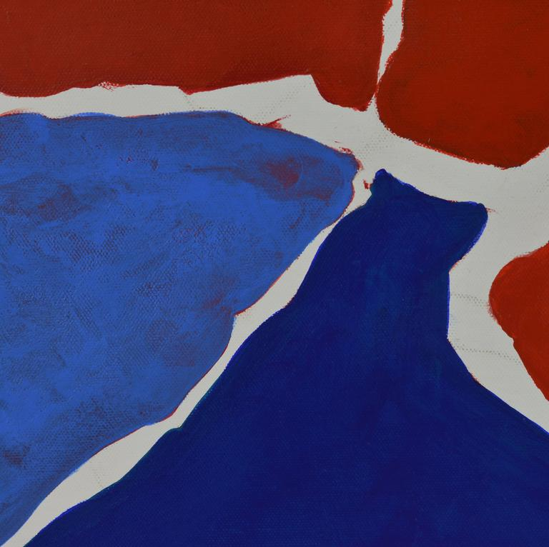 'December' Contemporary Abstract Work by Anders Hegelund, Danish In Good Condition For Sale In Ft. Lauderdale, FL