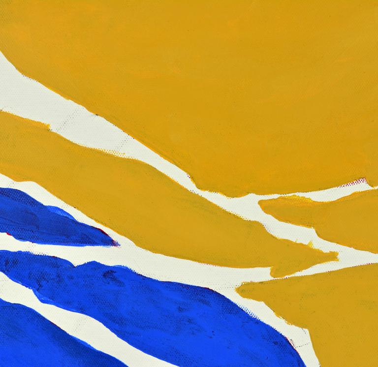 Modern 'December' Contemporary Abstract Work by Anders Hegelund, Danish For Sale