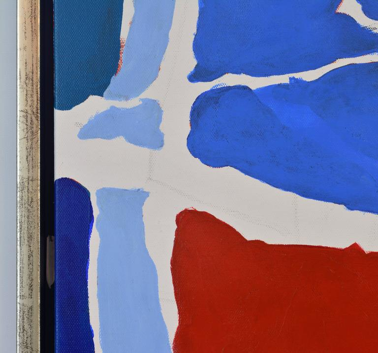 Canvas 'December' Contemporary Abstract Work by Anders Hegelund, Danish For Sale
