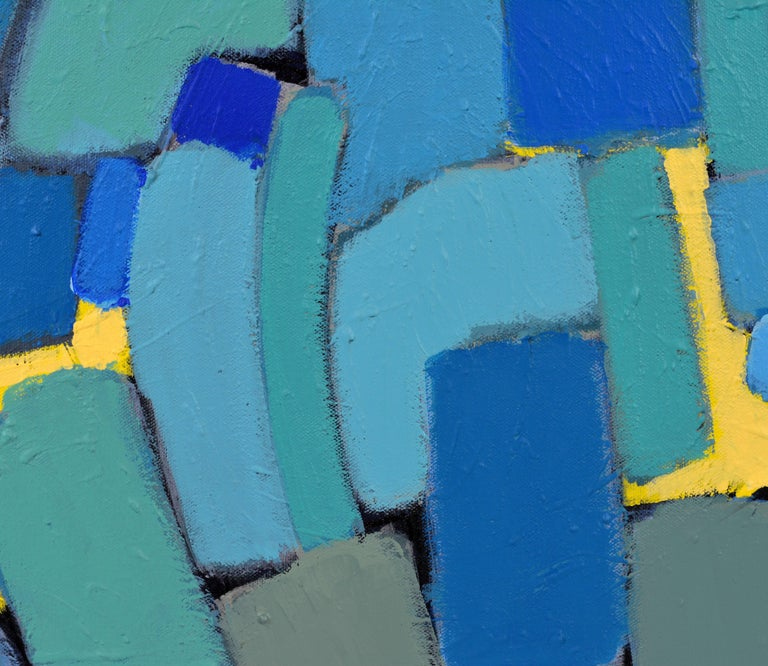 'Arrondissement' Contemporary Mid-Century Style Abstract by Lars Hegelund 3