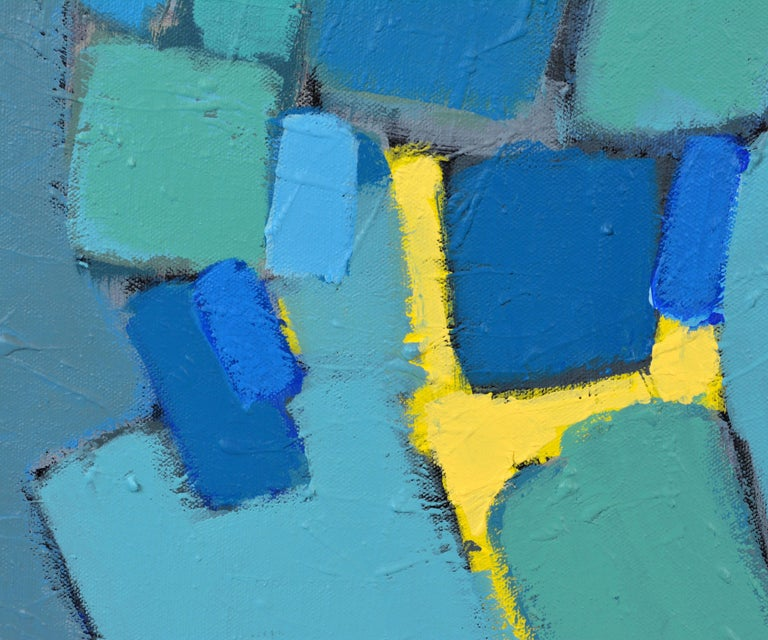 'Arrondissement' Contemporary Mid-Century Style Abstract by Lars Hegelund 6