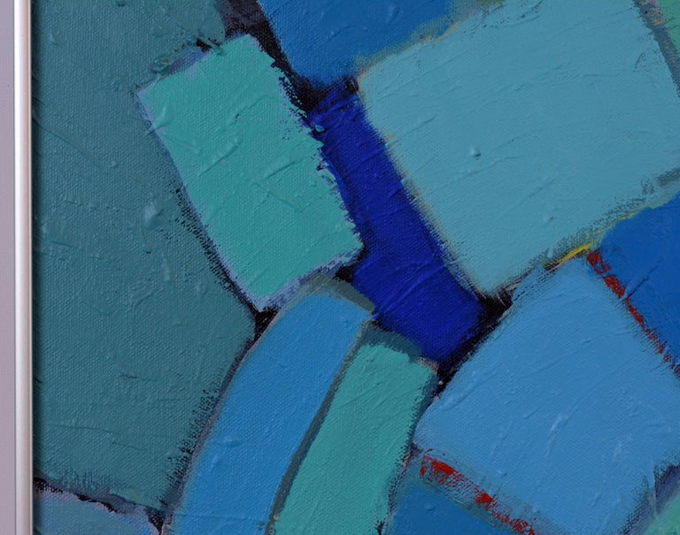 'Arrondissement' Contemporary Mid-Century Style Abstract by Lars Hegelund 10