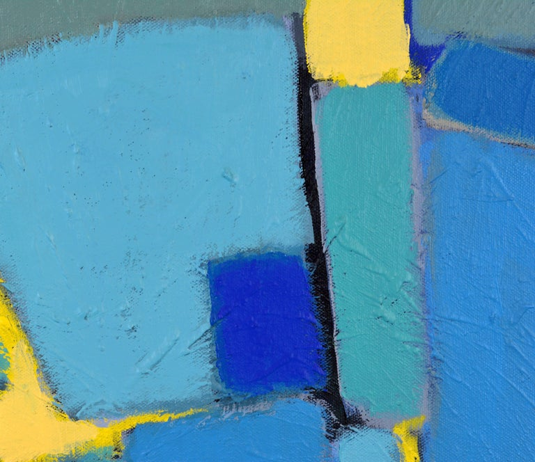 'Arrondissement' Contemporary Mid-Century Style Abstract by Lars Hegelund 4