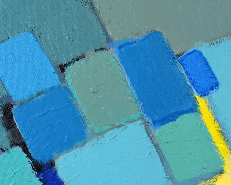 'Arrondissement' Contemporary Mid-Century Style Abstract by Lars Hegelund 7